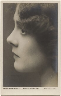Lily Brayton, by Lizzie Caswall Smith, published by  Rotary Photographic Co Ltd - NPG x200406