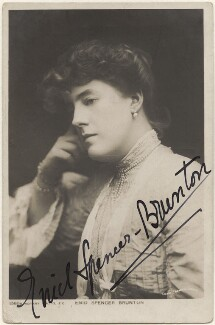 Enid Spencer Brunton, by Lizzie Caswall Smith, published by  Rotary Photographic Co Ltd - NPG x200410