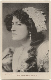 Constance Collier, by Lizzie Caswall Smith, published by  Davidson Brothers - NPG x200422