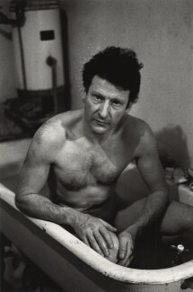 Lucian Freud, by Harry Diamond - NPG x210023