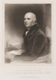 Joseph Farington, by Henry Meyer, published by  T. Cadell & W. Davies, after  Sir Thomas Lawrence - NPG D48647