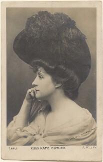 Kate Cutler (Mrs Sydney Ellison), by Lizzie Caswall Smith, published by  J. Wheeldon & Co - NPG x200426