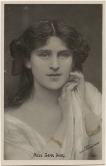 Zena Dare, by Lizzie Caswall Smith, published by  The Rotophot Postcard - NPG x200428