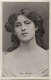 Zena Dare, by Lizzie Caswall Smith, published by  The Rotophot Postcard - NPG x200430