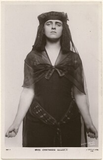 Gertrude Elliott as 'Cleopatra' in 'Caesar and Cleopatra', by Lizzie Caswall Smith, published by  J. Beagles & Co - NPG x200444