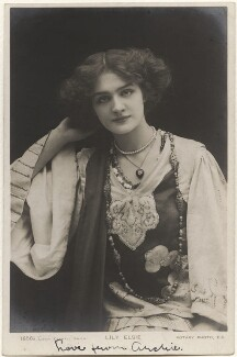 Lily Elsie in 'A Chinese Honeymoon', by Lizzie Caswall Smith, published by  Rotary Photographic Co Ltd - NPG x200454