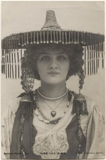 Lily Elsie in 'A Chinese Honeymoon', by Lizzie Caswall Smith, published by  Rotary Photographic Co Ltd - NPG x200455