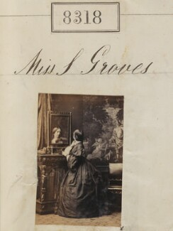 Miss S. Groves, by Camille Silvy - NPG Ax58137