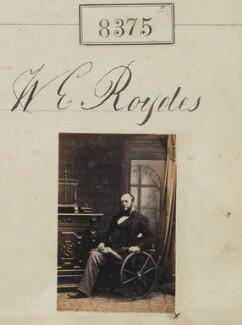 W.E. Roydes, by Camille Silvy - NPG Ax58194