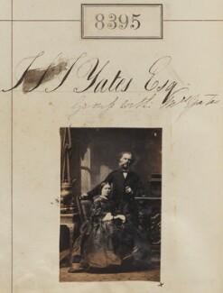 Emily Augusta Yates (née Scott); Joseph St John Yates, by Camille Silvy - NPG Ax58214
