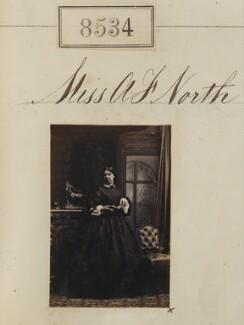 Miss A.F. North, by Camille Silvy - NPG Ax58356