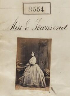 Miss E. Townsend, by Camille Silvy - NPG Ax58377
