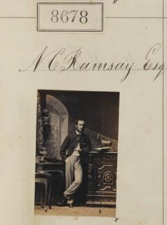 Mr N.C. Ramsay, by Camille Silvy - NPG Ax58501