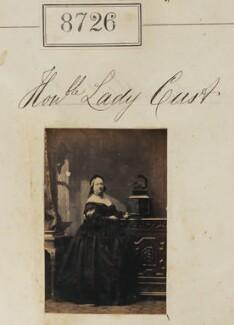 Hon. Lady Cust, by Camille Silvy - NPG Ax58549