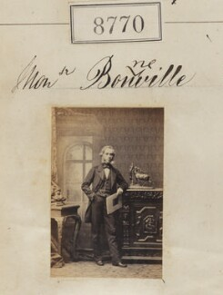 Monsieur Bonneville, by Camille Silvy - NPG Ax58593