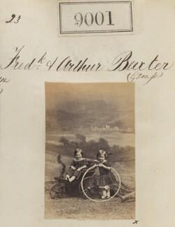 Frederick Baxter; Arthur Baxter, by Camille Silvy - NPG Ax58824