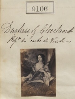 Duchess of Cleveland, by Camille Silvy - NPG Ax58928