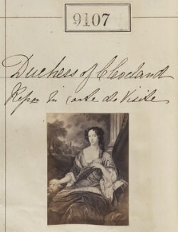 Duchess of Cleveland, by Camille Silvy - NPG Ax58929