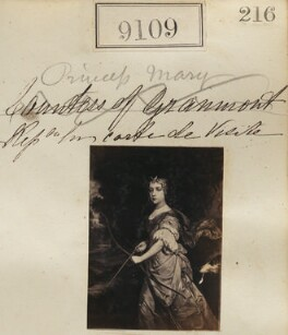 Queen Mary II ('Princess Mary. Reproduction for carte-de-visite'), by Camille Silvy - NPG Ax58931