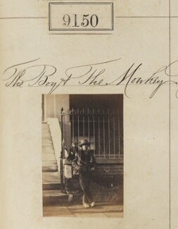 'The Boy and the Monkey', by Camille Silvy - NPG Ax58972