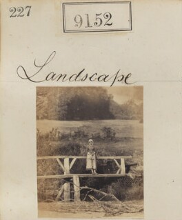 'Landscape', by Camille Silvy - NPG Ax58974