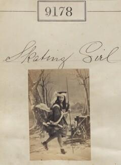 'Skating Girl', by Camille Silvy - NPG Ax59000