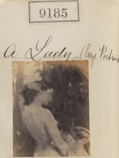 'A Lady', by Camille Silvy - NPG Ax59007