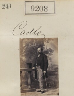 Castle, by Camille Silvy - NPG Ax59030