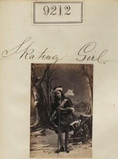 'Skating Girl', by Camille Silvy - NPG Ax59034