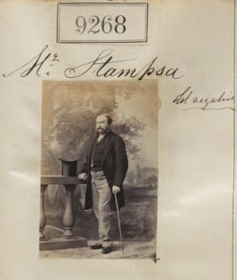 Mr Stampsa, by Camille Silvy - NPG Ax59089