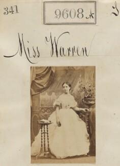 Miss Warren, by Camille Silvy - NPG Ax59356