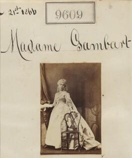 Madame Gambart, by Camille Silvy - NPG Ax59357