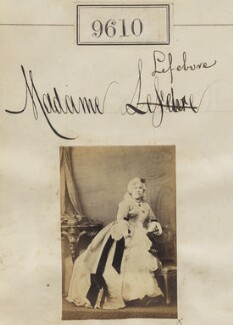Madame Lefebvre, by Camille Silvy - NPG Ax59358