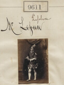 Mr Lefebvre, by Camille Silvy - NPG Ax59359