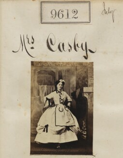 Mrs Cosby, by Camille Silvy - NPG Ax59360