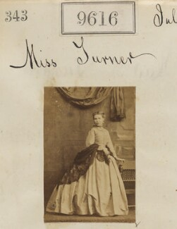 Miss Turner, by Camille Silvy - NPG Ax59363