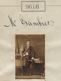Mr Gambiers, by Camille Silvy - NPG Ax59365