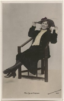 Lillian Graham, by Lizzie Caswall Smith, published by  The Rotophot Postcard - NPG x200468