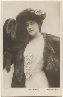Lily Hanbury, by Lizzie Caswall Smith, published by  Rotary Photographic Co Ltd - NPG x200470