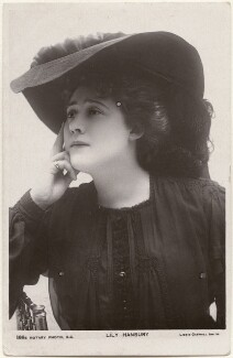 Lily Hanbury, by Lizzie Caswall Smith, published by  Rotary Photographic Co Ltd - NPG x200471