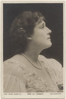 Lily Hanbury, by Lizzie Caswall Smith, published by  Rotary Photographic Co Ltd - NPG x200473