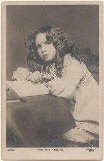 Iris Hawkins, by Lizzie Caswall Smith, published by  Rapid Photo Co - NPG x200476