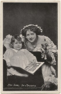 Isabel Jay and her daughter (Hon. Cecilia Claribel Anderson (née Cavendish)), by Lizzie Caswall Smith - NPG x200482