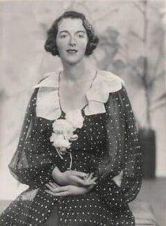 Audrey Mildmay, by Yvonne Gregory - NPG x199950