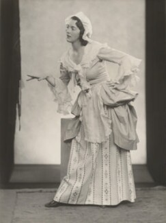 Audrey Mildmay as Susanna in 'The Marriage of Figaro', by Yvonne Gregory - NPG x199954