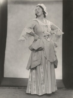 Audrey Mildmay as Susanna in 'The Marriage of Figaro', by Yvonne Gregory - NPG x199955