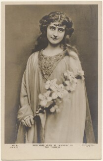Nora Kerin as 'Miranda' in 'The Tempest', by Lizzie Caswall Smith, published by  J. Beagles & Co - NPG x200484