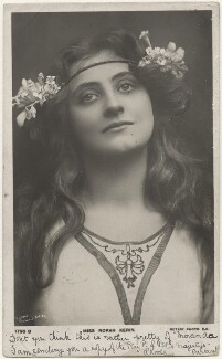 Nora Kerin as 'Miranda' in 'The Tempest', by Lizzie Caswall Smith, published by  Rotary Photographic Co Ltd - NPG x200485