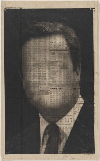 Study for a Head IV (David Cameron), by kennardphillipps (Peter Kennard and Cat Phillipps) - NPG x200702