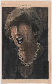 Profit (Theresa May), by kennardphillipps (Peter Kennard and Cat Phillipps) - NPG x200703